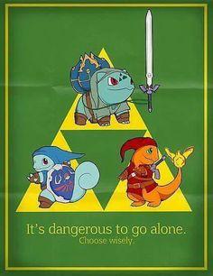 Zelda Pokemon