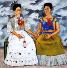 Frida Kahlo, le due Frida.