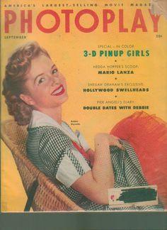Photoplay Magazine September 1953 Debbie Reynolds www.advintageplus.com