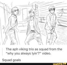 Viking Trio - Squad Goals