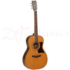 Tanglewood TW173 Premier Parlour Guitar - The wonderful small-bodied Tanglewood Premier Parlour Guitar delivers a near perfect tonal frequency response, excelling in Acoustic environments such as Concert Halls.