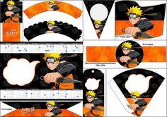 Naruto: Free Party Printables.