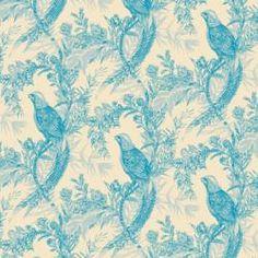 Timorous Beasties - Pheasant Wallpaper