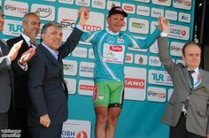 Thanks to his summit win on Stage 3, Ivaïlo Gabrovski (Konya Torku Seker Spor) is the 2012 Tour of Turkey winner. He also won the race five years ago when it was a smaller race.