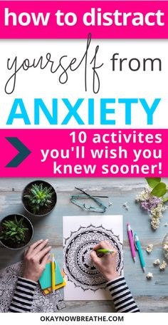 Ways to Help Anxiety - There are so many tips to fight your anxiety on the internet. This post covers 10 weird ways to distract yourself from your panic attacks and anxious thoughts and feelings. #mentalwellness #emotionalwellbeing #personaldevelopment #selfcare #anxiety
