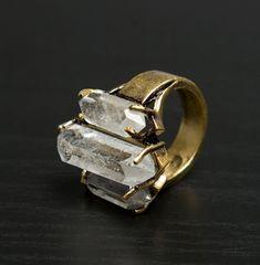 white crystal, pretty!!!! #want