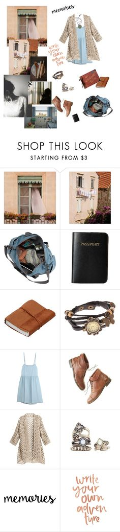 """Heimweh"" by angeladesantis ❤ liked on Polyvore featuring WALL, Vera Bradley, Monki, The Great, Madewell and Disney"