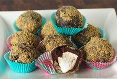 S'more Truffles   Popular seasonal recipes   Kosher Recipes - Joy of Kosher with Jamie Geller