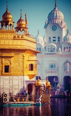 The Golden Temple Amritsar, India (Sri Harimandir Sahib Amritsar) is not only a central religious place of the Sikhs, but also a symbol of human brotherhood and equality.  Sri Guru Ram Dass Ji (4th Sikh Guru) started the digging of Amrit Sarovar (Holy Tank) of Sri Harmandir Sahib in 1577 A.D.  Photo: google+
