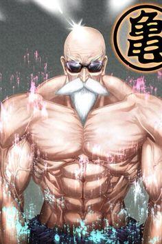 Maestro Roshi (Muten Roshi) / Dragon Ball Z #Roshi #DragonBall #series #BoladelDragon #BragonBallZ #MutenRoshi
