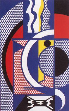 Roy Lichtenstein - Modern Head No. 1 (1970)