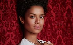 Download wallpapers Gugu Mbatha-Raw, 4k, british actress, portrait, beauty