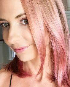 Pink Hair Dye, Pastel Hair, Dyed Hair, Pastel Pink, Home Fashion, Sarah Michelle Gellar Hot, Cotton Candy Hair, Temporary Hair Dye, Christina Aguilera