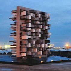 Marble Architectural Awards: En el puerto de Veracruz, en México, hay un monumento que conmemora los 100 años de la llegada de los judíos
