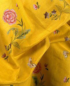 Painted Silk-Robe a la Polonaise / Met 1970.87a, b