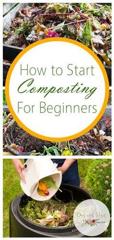 How to Start Composting For Beginners #compost #gardening #gardenideas #gardeningtips