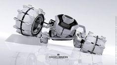 Tron Legacy Light Runner Render by Daniel Simon