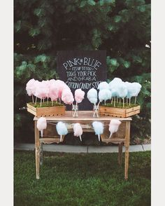 Cotton Candy Wedding Fun ~ we ♥ this! moncheribridals.com