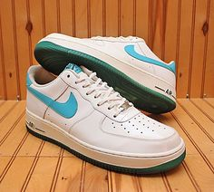 official photos ed88c 96405 2010 Nike Air Force 1  07 Low Size 12 - White Marina Blue - 315122