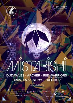 Mistabishi poster by Razvan Coste, via Behance