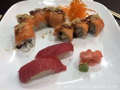 Origami Sushi - Good Advertised Specials - http://www.cuencaeats.com/dinner/origami-sushi/