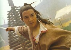 Jet Li in Twin Warrior