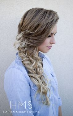 this is what i would do on my wedding day... love this hair style <3