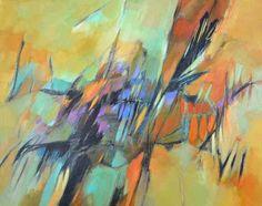 "Fall Shadows by Filomena Booth Acrylic ~ 24"" x 30"""