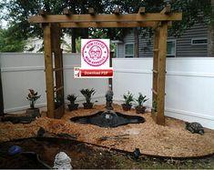 Wood Arbor Plan/Trellis plan/Planter Arbor Plan/Rose arbor plan/vine arbor plan/Wood Planter Plan/Wedding Arbor Plan/Arbor Plan/rustic pdf - All For Garden Wood Deck Plans, Patio Plans, Wood Pavilion, Backyard Plan, Backyard Patio, Backyard Ideas, Wood Arbor, Covered Decks, Roof Plan