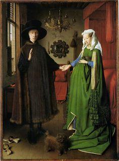ARNOLFINI WEDDING PORTRAIT, John Van Eyck