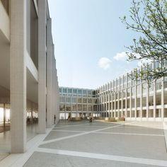 Graber Pulver Architekten | Wettbewerb Erweiterung Université de Fribourg | Visualisierung maaars.ch