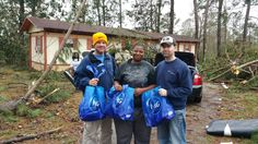 Thank you for supporting our tornado relief efforts in Mississippi. Our team distributed products to approximately 700 people affected by the storms!