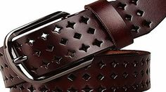 GoGou Designer Leather Womens Perforated Belts for Jean (Coffee) No description (Barcode EAN = 0702403433842). http://www.comparestoreprices.co.uk/december-2016-week-1/gogou-designer-leather-womens-perforated-belts-for-jean-coffee-.asp