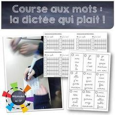 La course aux mots ou la dictée revisitée - the running dictation - Mitsouko au CP - Tap the link to shop on our official online store! You can also join our affiliate and/or rewards programs for FRE Teacher Hacks, Best Teacher, Back To School Hacks, School Stuff, Spelling Activities, Listening Activities, Teachers Corner, French Classroom, Teaching French
