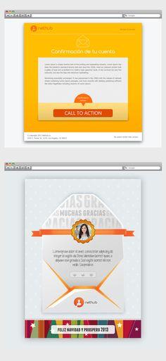 Diseño de interfaces web by Kreativos.net , via Behance