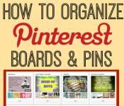 How to Organize Your Pinterest Boards | BlogHer