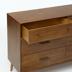West elm mid century dresser