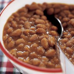 We were after rich, creamy baked beans that didn't require constant attention.
