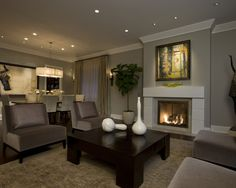 Contemporary Living Room Decoration Inspiration 95+ Example Ideas