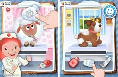 Animal Hospital Happy Touch kids app