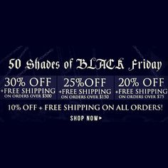 KARMALOOP's Early BLACK FRIDAY: 31% Off & Free Shipping on orders $300+. 26% Off & Free Shipping on orders $150+. 21% Off & Free Shipping on orders $75. 11% Off & Free Shipping on any order.Combine RepCode: SALES & Promocode: 50SHADES Karmaloop-Codes.com #karmaloop #promocodes #freeshipping #blackfriday