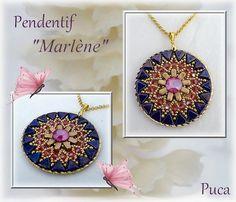 "Schéma pendentif"" Marlène"" by Pucashop on Etsy"