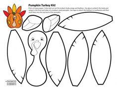 Angel Street Mom Blog Pumpkin Turkey Kit
