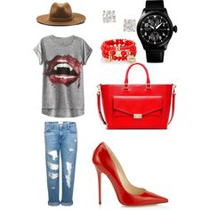 Running Errands by mobbing on Polyvore featuring polyvore, fashion, style, Frame Denim, Jimmy Choo, Tory Burch, The Limited, Anita Ko and rag & bone