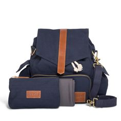 Theultimate baby changingbag. The KAOS Ransel is a high-quality, stylish and unisex babychangingbag with large...
