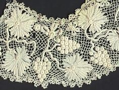 Irish lace.