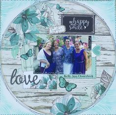 Layout By Kelly-ann Oosterbeek made using the Sea Breeze Collection from… Wedding Scrapbook Pages, Baby Scrapbook, Scrapbook Paper Crafts, Scrapbook Cards, Beach Scrapbook Layouts, Digital Scrapbooking Layouts, Scrapbook Designs, Scrapbook Templates, Photo Layouts