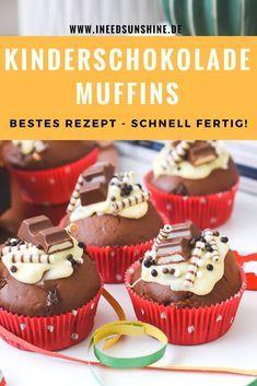 Kinderschokolade Muffins Torte Mehr Fur Kindergeburtstag Essen