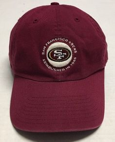 San Francisco 49ers Hat NFL Baseball Cap Football Twins Enterprise  California CA  TwinsEnterprise  SanFrancisco49ers 93956f51c