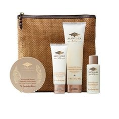 Mandara Spa Honeymilk Spa Escape Travel Bag * Trust me, this is great! Click the image. : Travel Skincare